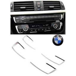 Título do anúncio: Aplique moldura painel BMW ar condicionado e rádio