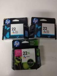 Título do anúncio: Kit cartuchos HP 22
