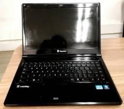 Notebook Itautec Infoway W7550 Core I5, 4gb Ddr3, Hd 500 Gb