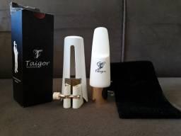 Boquilha Taigor sax tenor modelo Cannon 8