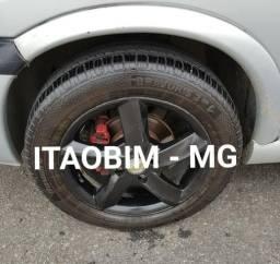 Rodas aro 15 com pneus - Itaobim MG
