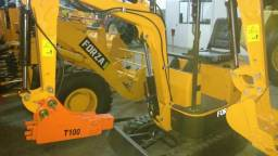 Mini escavadeira nova de fábrica