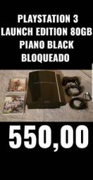 Sony PlayStation 3 Launch Edition 80GB Piano Black