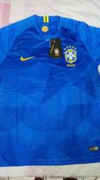 Camisa seleção brasileira 2018