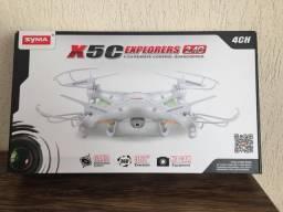 Drone Syma X5C novo na caixa