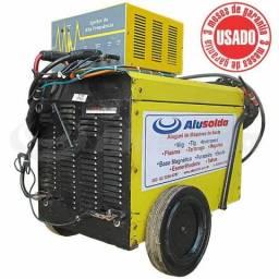 Máquina de Solda TIG Alumínio AC 270A com Ignitor de Alta Frequência