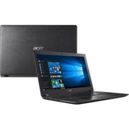 "Notebook Acer A315-51-30V4 - i3 8130U 15,6"" 4GB 1TB + SSD 128Gb Windows 10"