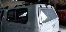 Capota de fibra com janela lateral s10 cabine dupla dos ano 2013 a 2020