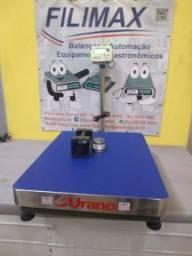 Balança 600 Kg Industrial | Plataforma Inox