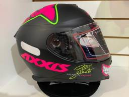 Capacete Axxis MG 16 Celebrity Edition Marianny