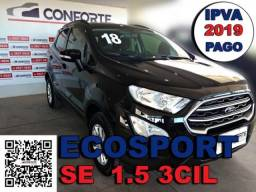 Ford ecosport 2018 1.5 tivct flex se manual - 2018
