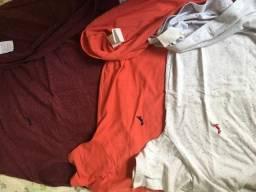 Camisas reserva todas no tamanho P usadas 100 as três