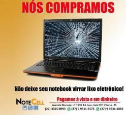 Título do anúncio: P_A_G_A_M_O_S_ O Melhor Preço No Seu Notebook, mesmo com algum defeito!!