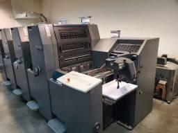 Heidelberg Print Master 52- 4 cores