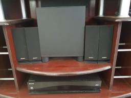 Home Theater Sony Blu-ray BDV-E370 5.1 Canais 850W RMS 3D
