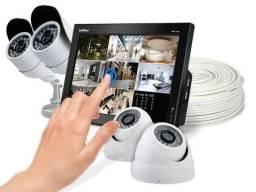 Cftv cameras e alarmes de segurança