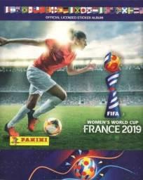 Lote de 210 figurinhas sem repetidas do álbum Fifa Women World Cup France 2019