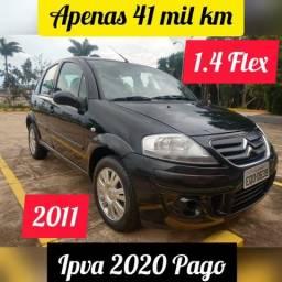 C3 * 41 mil km * IPVA 2020 Pago * Bancos em Couro * Série Especial - 2011