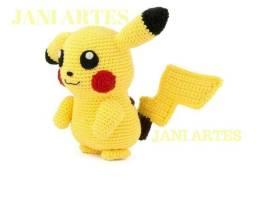 Minions ou Pikachu em Amigurumi A decoração ou presente perfeito! Confira!