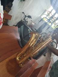 Sax tenor yamaha yts62, série purple  anos 90.