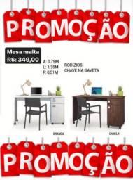 Mesa Malta c/gaveta (PROMOÇÃO)