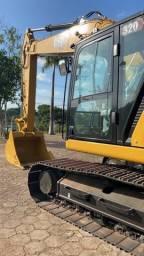 Escavadeira hidráulica 320 da Caterpillar