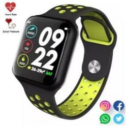 Oferta!! Relógio Inteligente Smartwatch F8 **Whatsapp Instagran Ios Android comprar usado  Porto Seguro