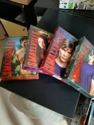 Dvd box Smallville várias temporadas