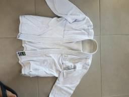 Kimono naja tamanho A1, com duas faixas(branca e cinza) comprar usado  Porto Alegre