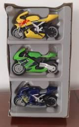 Brinquedos Motos Racing Dire Cast Metal