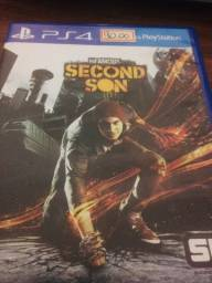 CD Ps4 infamous Second Son