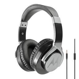 Fone de ouvido Motorola Pulse Max com microfone - Preto