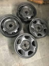 Rodas de ferro aro 15 Ecosport 4x108