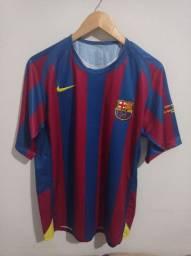 Camisa retrô Barcelona temporada 05/06