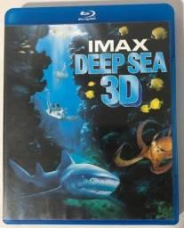 Imax Deep Sea 3D Blu-ray Disc original seminovo