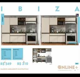 Cozinha ibiza (em promoção) frete grátis