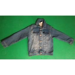 Jaqueta jeans infantil / Tamanho 4 / R$20,00