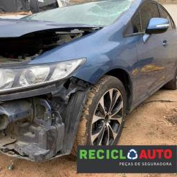 Sucata de Honda Civic LXR 2014/2015. Para retirada de peças
