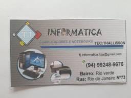 Tj informática computadores e notebooks