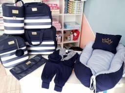 Enxoval,roupas,bolsas,bico,mantas,cueiro,canguru,travisseiro(loja TIA BABY)