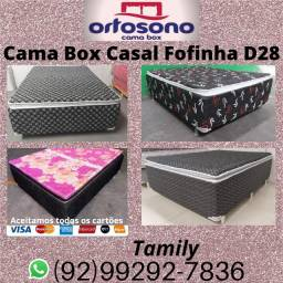 Cama Casal Fofinha D28 com Pillow