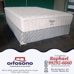 Título do anúncio: $ Cama cama conjunto molas veneze - entrega gratis