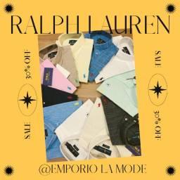 Camiseta social Ralph Lauren