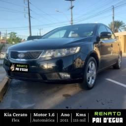 Kia Cerato 1.6 EX2- GNV 5 Geração - Renato Pai Degua