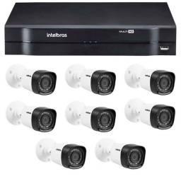 Título do anúncio: KIT 6 Câmeras DE Segurança INtelbras 720P