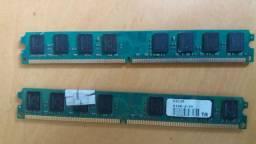 2 Memorias DDR 3 com 2 gigas