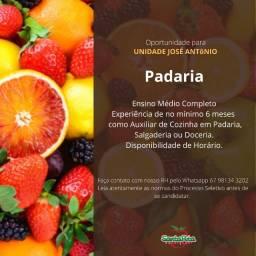 Título do anúncio: Atendente de Padaria