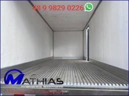 Título do anúncio: bau caminhão frigorifico 3/4 usados chapeco baus mathias implementos