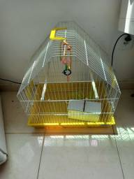Título do anúncio: Gaiola para pássaros de porte médio tipo agapornis