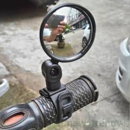 Espelho Retrovisor Universal Ajustável Para Bicicleta / Ciclismo .
